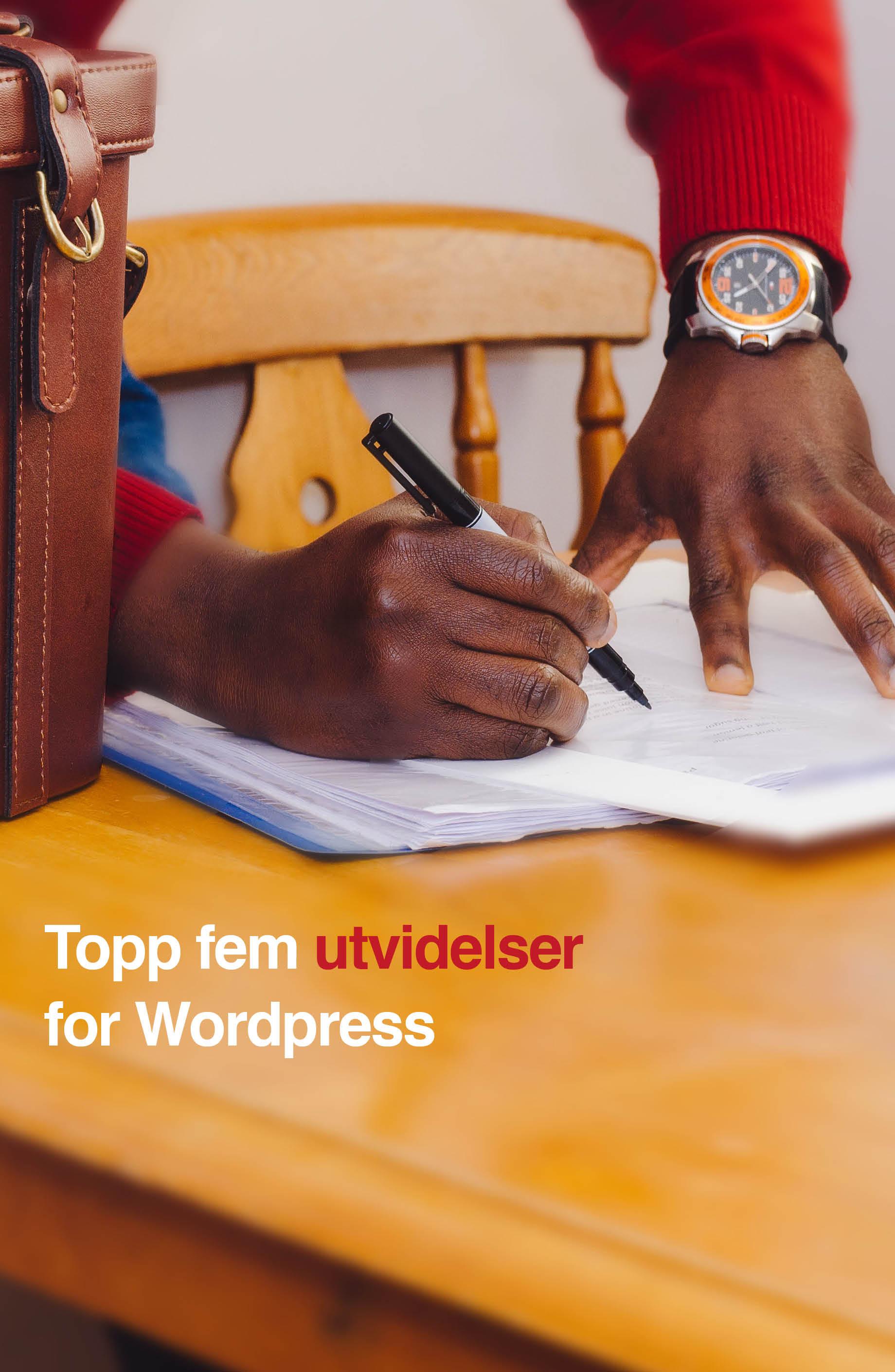 Ny med Wordpress? Her er fem utvidelser du bør ha.