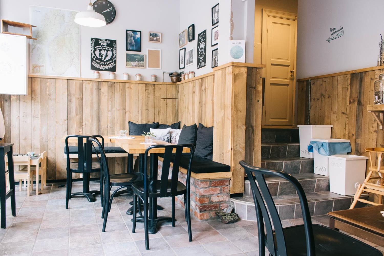 I helga besøkte jeg Ekte Vare på Sagene, en økologisk dagligvare og kafé.