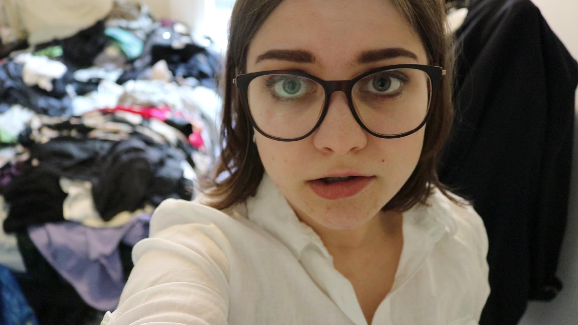 Det var virkelig på tide å rydde i klesskapet.